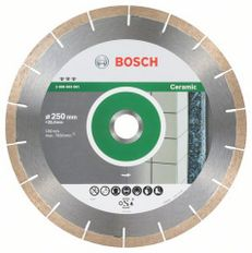 Diamantový rezný kotúč Bosch® 250x1,8x25,4 mm, Best for Ceramic and Stone, segmentový